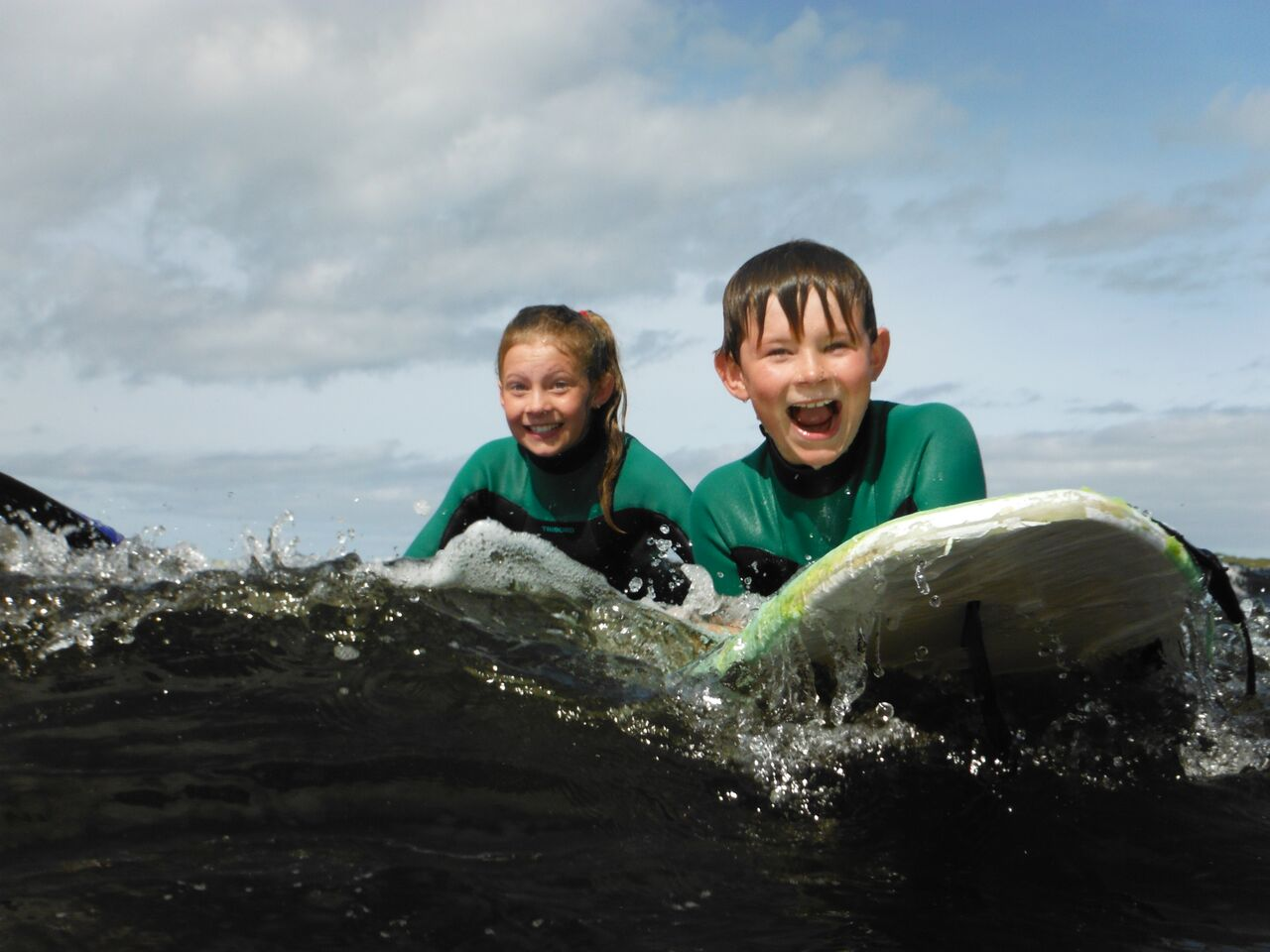 Image for Surf Lesson Voucher for 2 kids (ages 8-16)