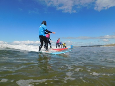 Image for Family surf lesson voucher. 2 adults 2 kids or 1 adult 3 kids (kids 8-16)